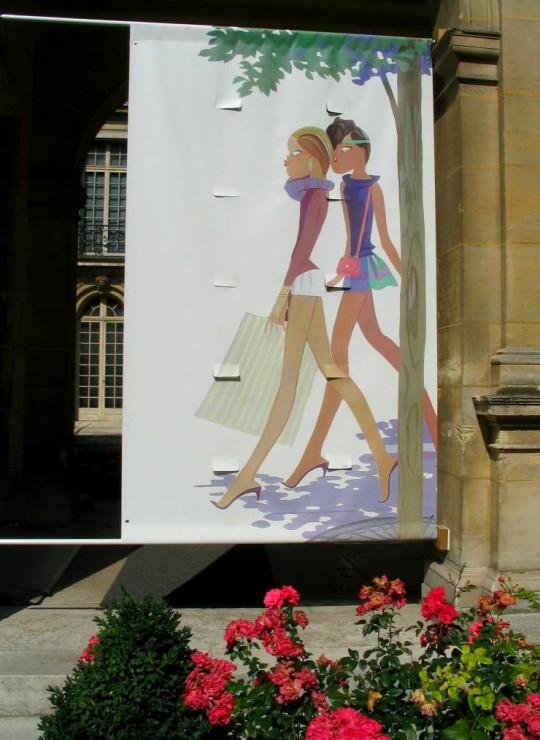 Photo lavieenrouge. Expo Kiraz Musée Carnavalet