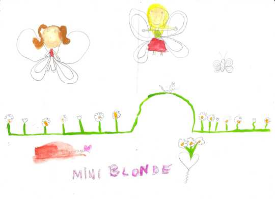 Dessin Mini-Blonde.