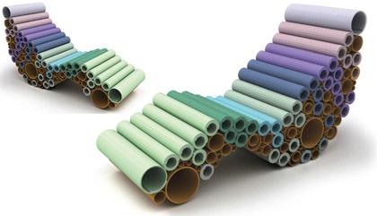Design chutes de moquette rouleaux de carton un - Fabriquer un tapis avec de la moquette ...