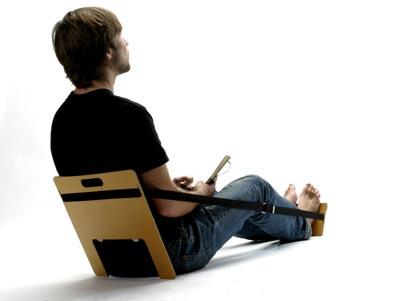 fauteuil pliant minimaliste lavieenrouge. Black Bedroom Furniture Sets. Home Design Ideas