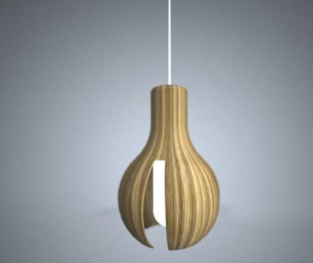 lampe en bois lavieenrouge. Black Bedroom Furniture Sets. Home Design Ideas