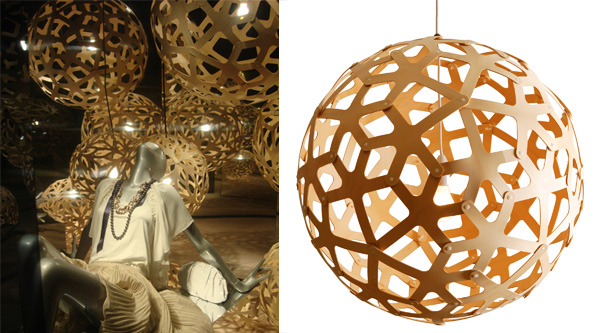 Lampe en pin - Design ecologique ...