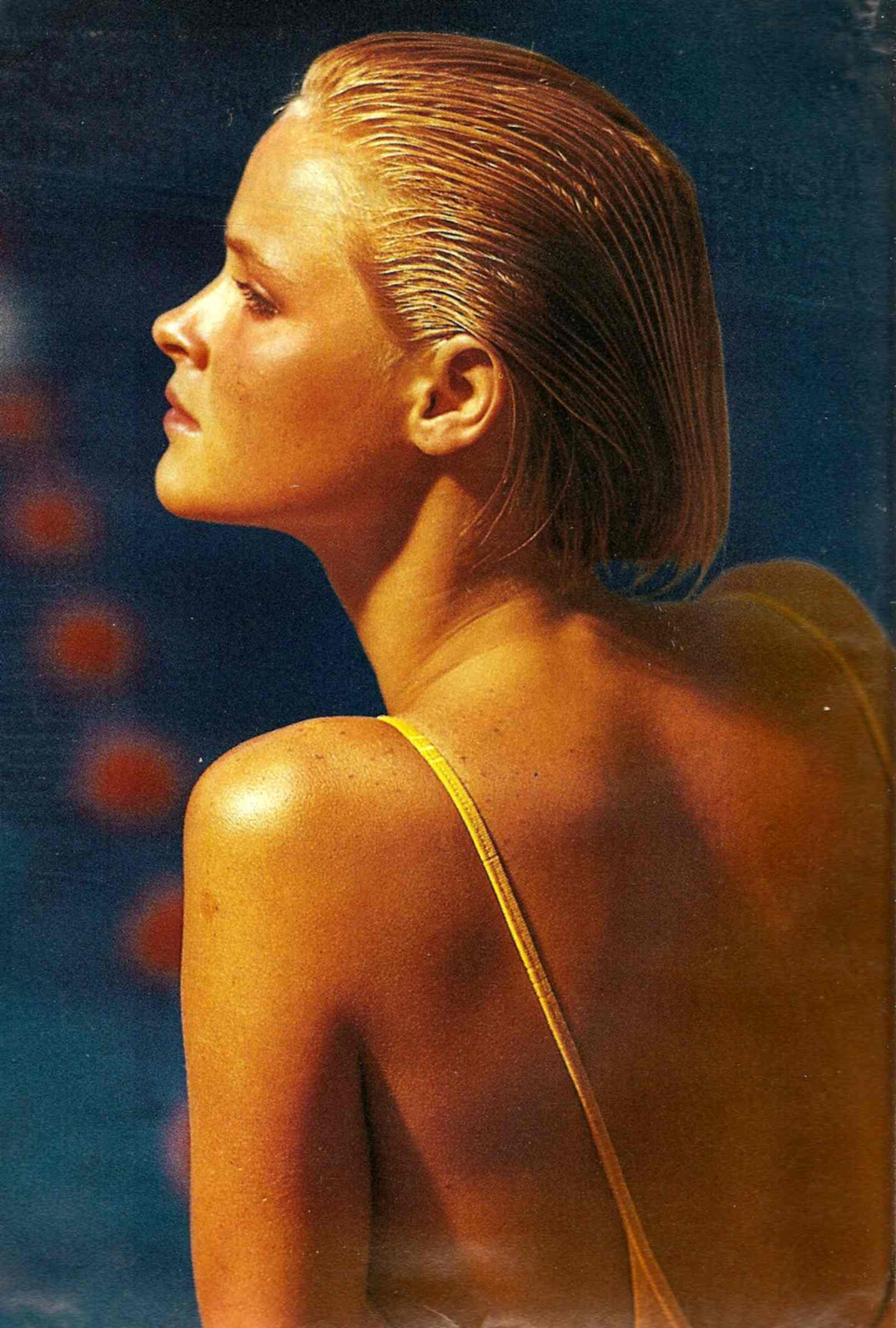 bronzage peau jaune