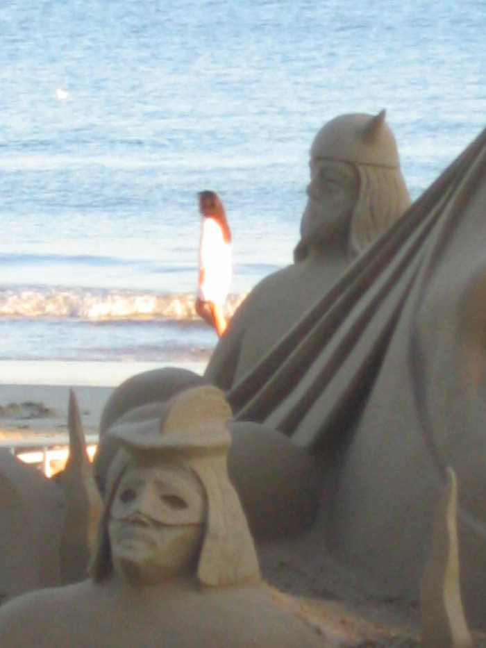 La Baule chateau de sable