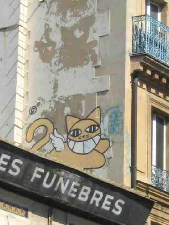 Graffiti Monsieur Le Chat