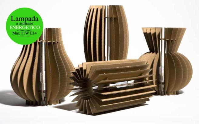 lampe en carton lavieenrouge. Black Bedroom Furniture Sets. Home Design Ideas