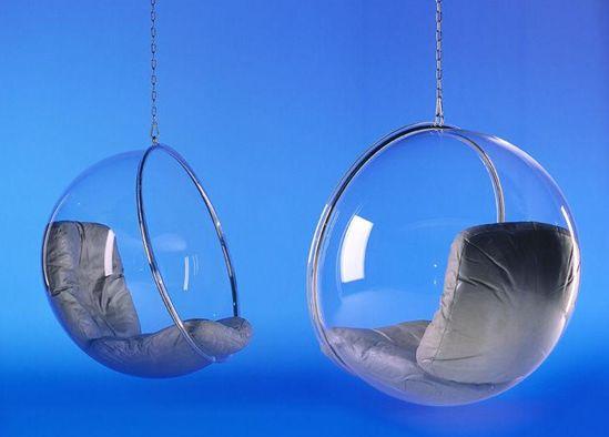 le fauteuil bubble d eero aarnio lavieenrouge. Black Bedroom Furniture Sets. Home Design Ideas