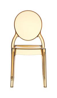La chaise design transparente elisa lavieenrouge - Chaise pvc transparente ...