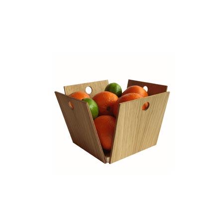 Objets design en bois lavieenrouge - Corbeille a fruits design ...