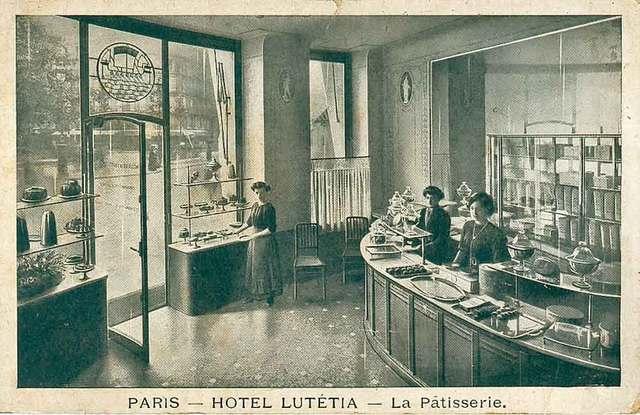 H tel lut tia une page d histoire lavieenrouge - Restaurant le paris lutetia ...