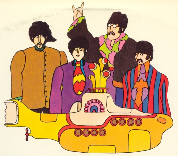 Yellow Submarine. The Beatles.