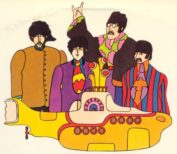 Yellow Submarine. The Beatles.
