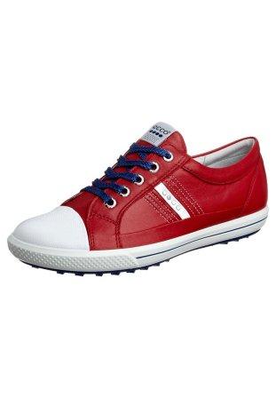 Chaussures de golf rouge
