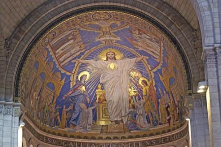 Basilique-du-Sacré-Coeur.Mosaique-de-l-abside