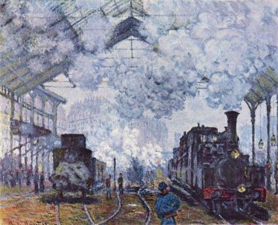 gare saint lazare Claude_Monet