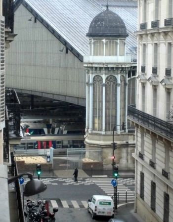 H tel pr s de la gare saint lazare lavieenrouge for Hotel pres de la gare