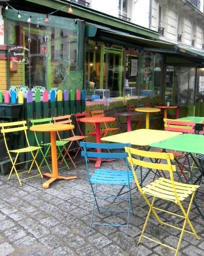 l'été en pente douce restaurant