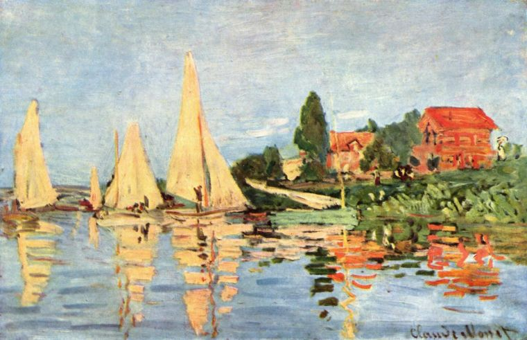 Regate_Argenteuil_Monet