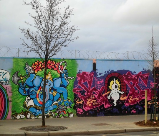 street art gare du nord