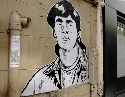 graffiti rue amelot paris
