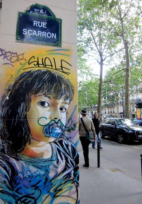 graffiti rue Scaron