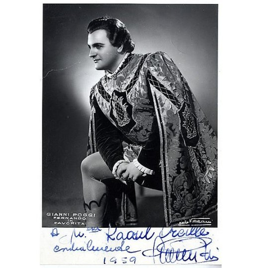 chanteur Gianni Poggi