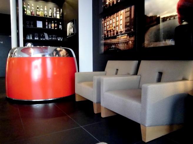 le bar de l'Hôtel Atmosphères PARIS