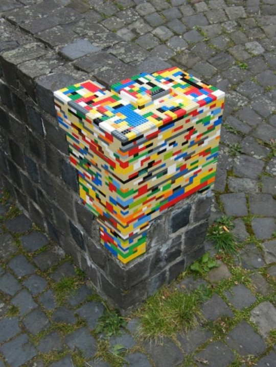 lego et street art