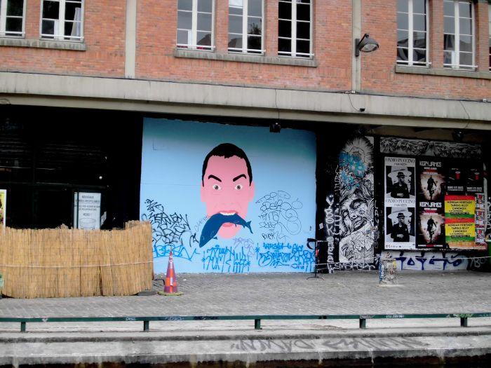 graffitis les canaux de Paris
