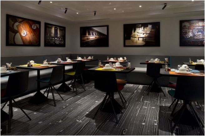 salle à manger hôtel Atmosphères