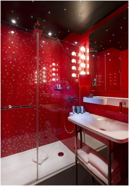 Salle de bain hôtel Atmosphères