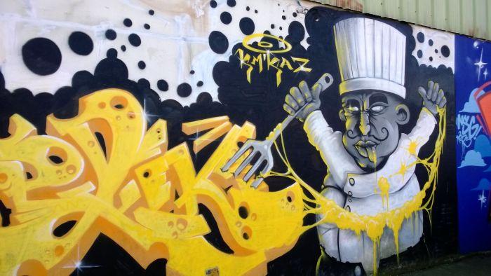 graffiti Lorient. OCT8