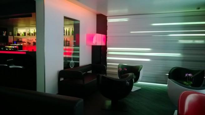 hôtel Félicien le salon