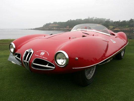 1952 Alfa Romeo C52 Disco Volante Spider