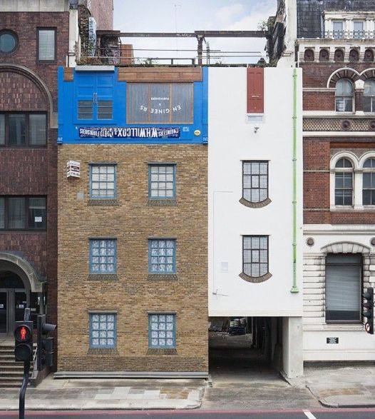 Alex Chinneck LONDRES