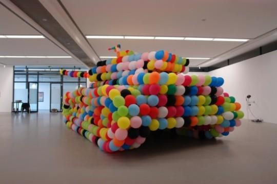 The balloon tank (German Panther