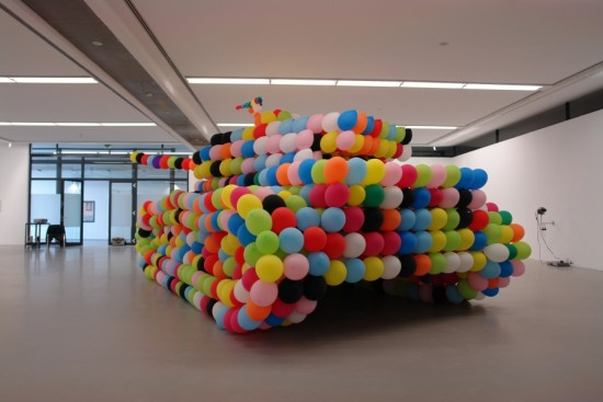 The balloon tank (German Panther