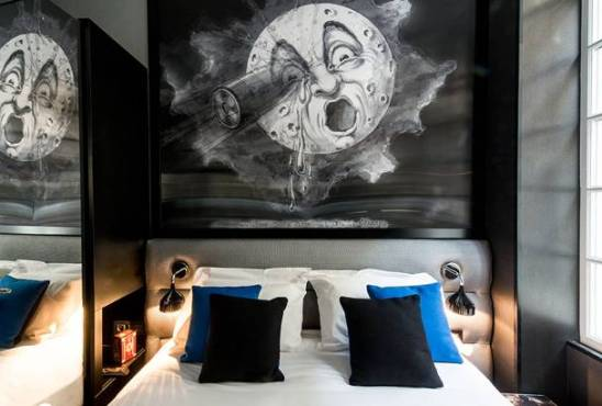 design hôtel Splendor chambre Melies