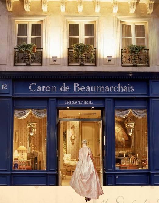 Hôtel Caron de Beaumarchais. Home