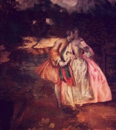 peinture du XVIII ème