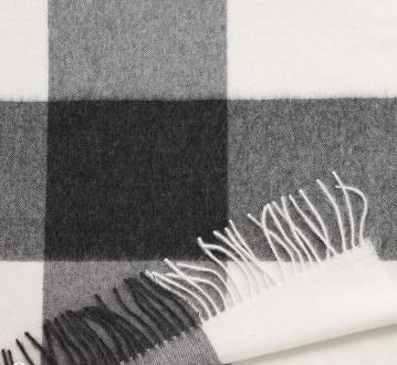 plaid Nobilis gris