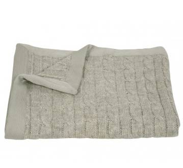 plaid tricot Nobilis