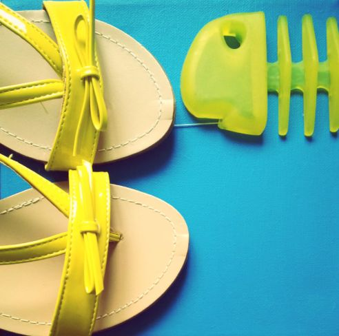 sandales Babou Jaunes