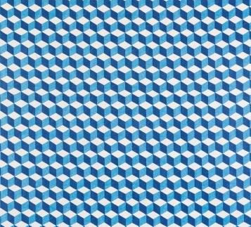 tissu bleu tendance
