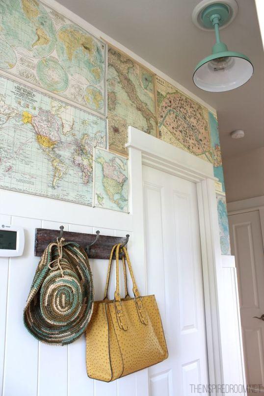 DIY wall paper