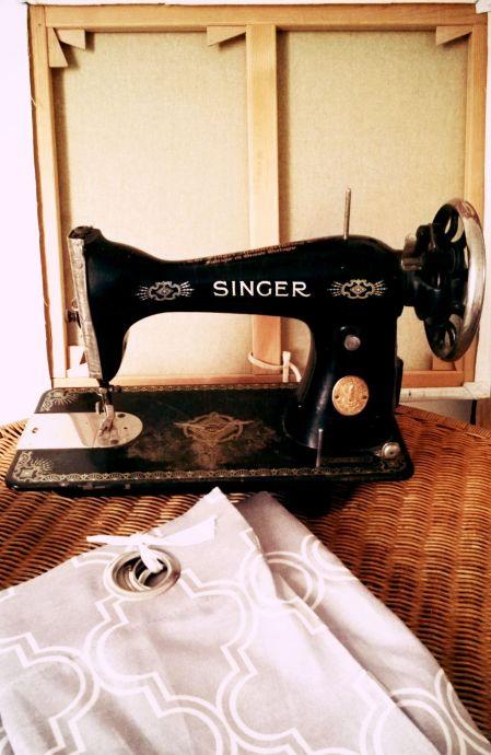 vieille machine à coudre Singer
