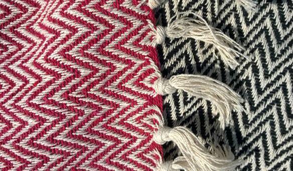plaid en coton tendance