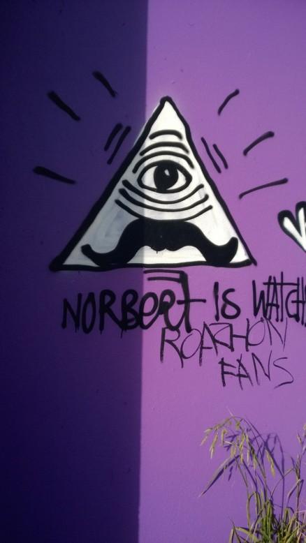Graffiti Norbet Métairie