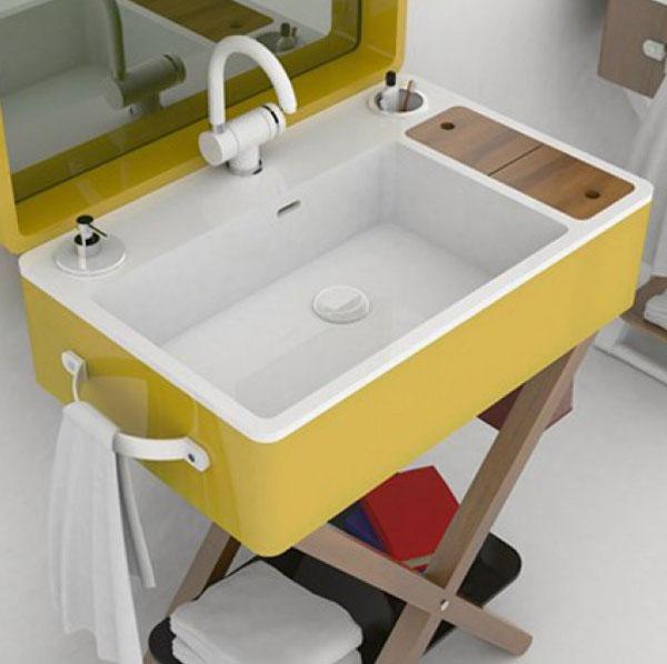 salle de bain portable