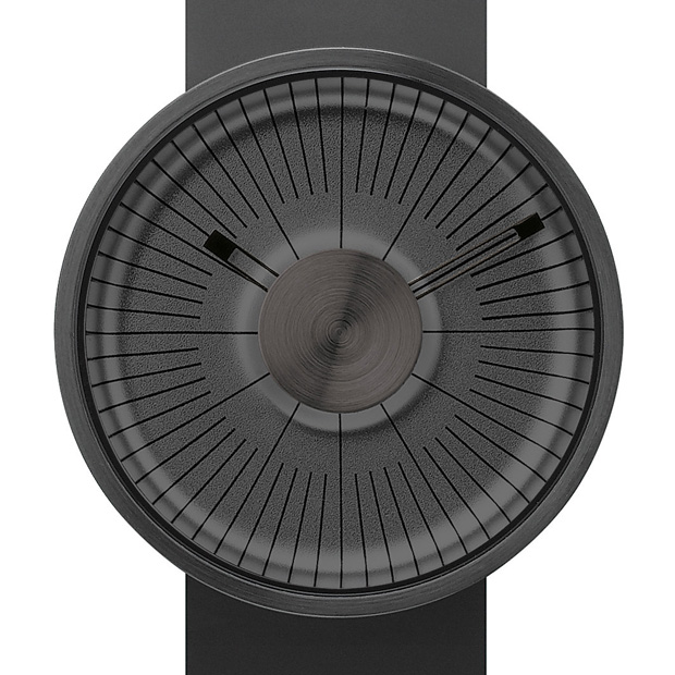 MY03 Hacker is the newest watch by British industrial designer Michael Young